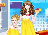 Игра Мама и дочка наряжаются