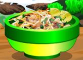 Игра Тёплый тайский салат из утки