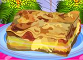 Игра Овощная лазанья с баклажанами