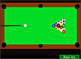 Игра Simple pool game