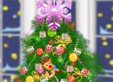 Игра Модная Новогодняя елка Анжелы
