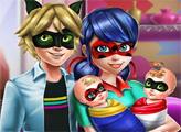 Игра Семейный день Леди Баг