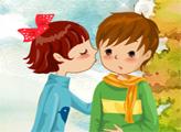 Игра Поцелуи сладкой парочки