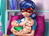 Игра Рождение близнецов Леди Баг