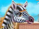 Игра Забота о зебре