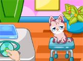Игра Милый котик в больнице