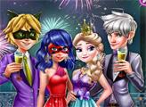Игра Парочки на новогодней вечеринке