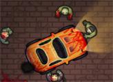 Игра Водитель против зомби