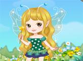 Игра Маленькая цветочная фея