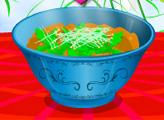 Игра Азиатский куриный суп с лапшой