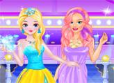 Игра Модный показ блондинка и рыжая