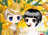 Игра Свадьба золотой осенью