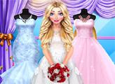 Игра Блондинка готовится к свадьбе