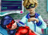 Игра Леди-Баг в больнице
