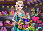Игра Эльза покупает подарки