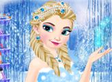 Игра Зимняя мода ледяной королевы