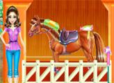 Игра Уход за лошадкой