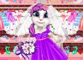 Игра Говорящая Анджела: Платье мечты