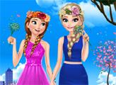 Игра Сестры: Весенний день