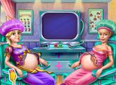 Игра Беременная Принцесса Голди