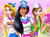 Игра Диснеевские принцессы - кассиры в супермаркете