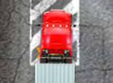 Игра Красный грузовик: Парковка