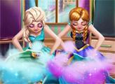Игра Уборка в гардеробной сестер