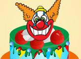 Игра Клоун-торт