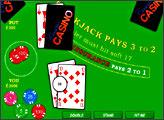 Игра BlackJack Pays 3 to 2