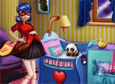 Игра Дизайн детской для Беременной Леди Баг