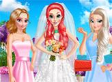 Игра День свадьбы Русалочки