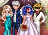 Игра Свадьба Леди Баг и королевские гости