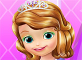 Игра Уход за волосами маленькой принцессы