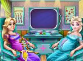 Игра Беременные подружки у врача