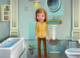 Игра Уборка ванной Райли