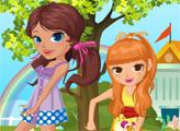 Игра Школьные воспоминания красивых сестёр