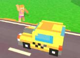 Игра Пиксель такси