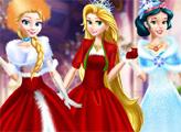 Игра Рождество Принцесс в замке