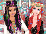 Игра Мода принцесс: коллекция 2017 - Стиль Коачелла