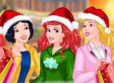 Игра Принцессы на рождественской распродаже