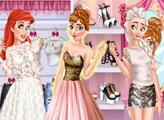 Игра Блестящая вечеринка принцесс