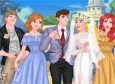 Игра Свадьба в кампусе колледжа принцесс
