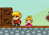 Игра Принц и принцесса в клетке
