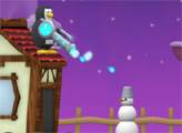 Игра Пингвин против Снеговика