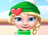 Игра Новогоднее украшение принцессы куклы