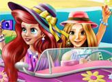 Игра Пляжный отдых принцесс