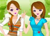 Игра Дружные сёстры