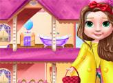 Игра Декорация дома кукольной принцессы