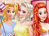 Игра Первая вечеринка в колледже принцесс