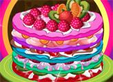 Игра Вкусный креп-торт